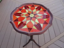 Kaleidoscope table