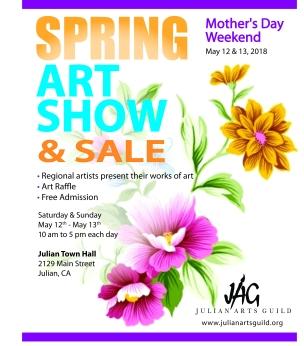 Spring Art Show - Poster 2018