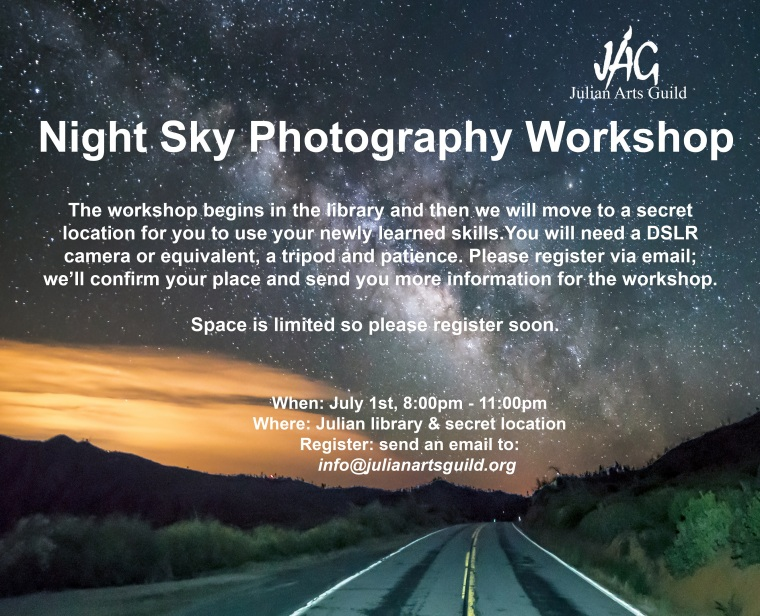 night sky workshop flyer version 4a