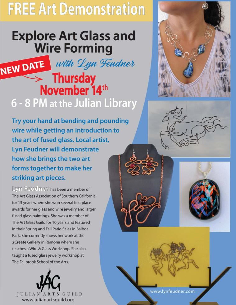Wire and Art Glass Demo-revised