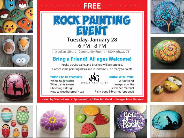 Rock Painting II Flyer